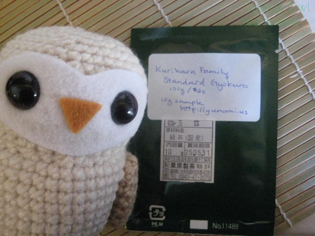 Gyokuro Standard Kurihara Tea via Yunomi us - Oolong Owl Tea Review (2)