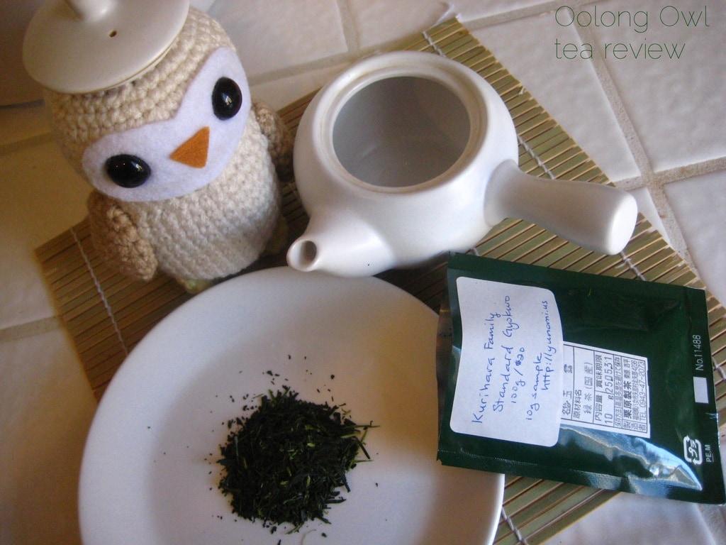 Gyokuro Standard Kurihara Tea via Yunomi us - Oolong Owl Tea Review (4)