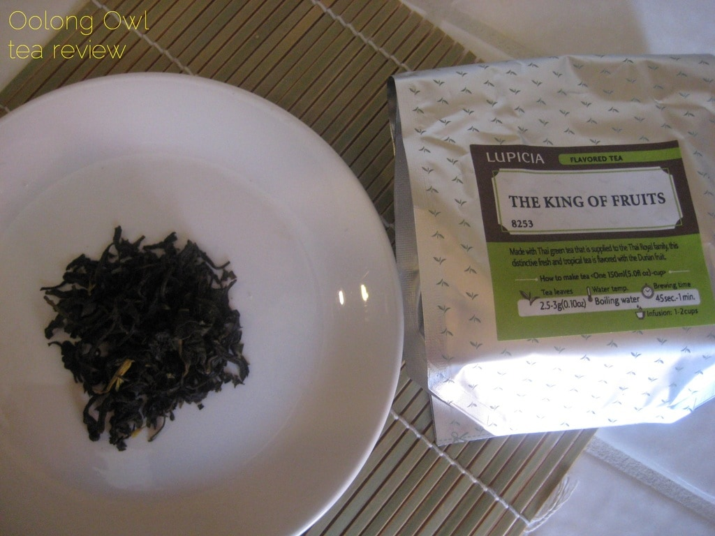 King of Fruits from Lupicia - Oolong Owl Tea review (2)