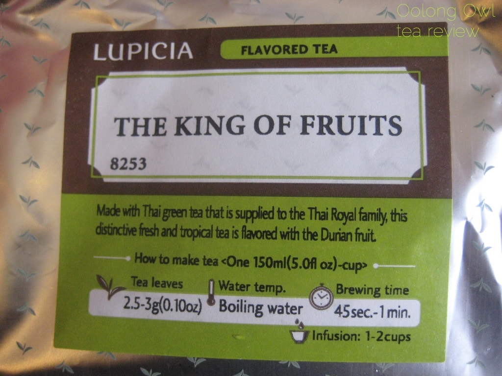 King of Fruits from Lupicia - Oolong Owl Tea review (3)