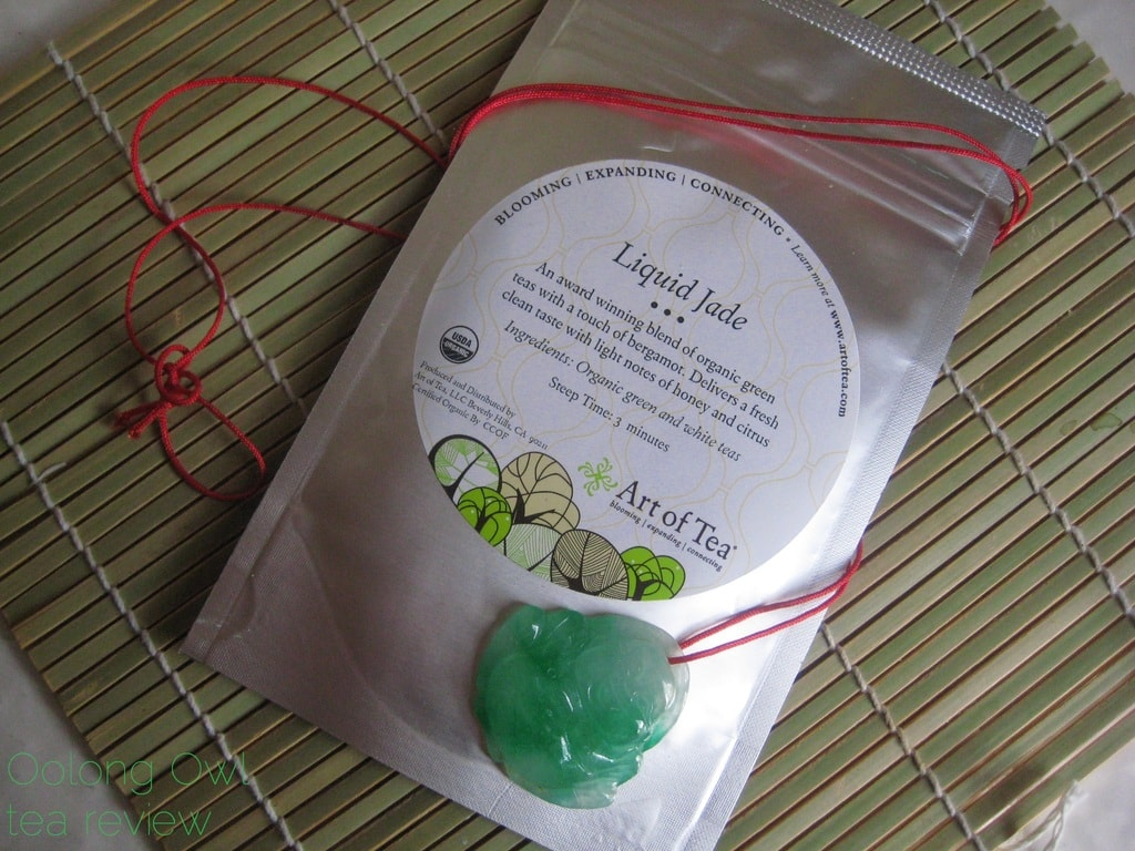 Liquid Jade from Art of Tea - Oolong Owl tea review (1)