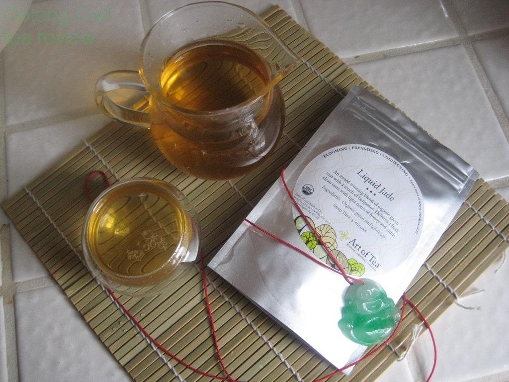 Liquid Jade from Art of Tea - Oolong Owl tea review (2)