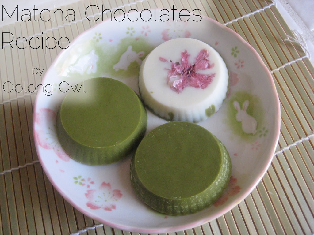Matcha Chocolates Recipe by Oolong Owl