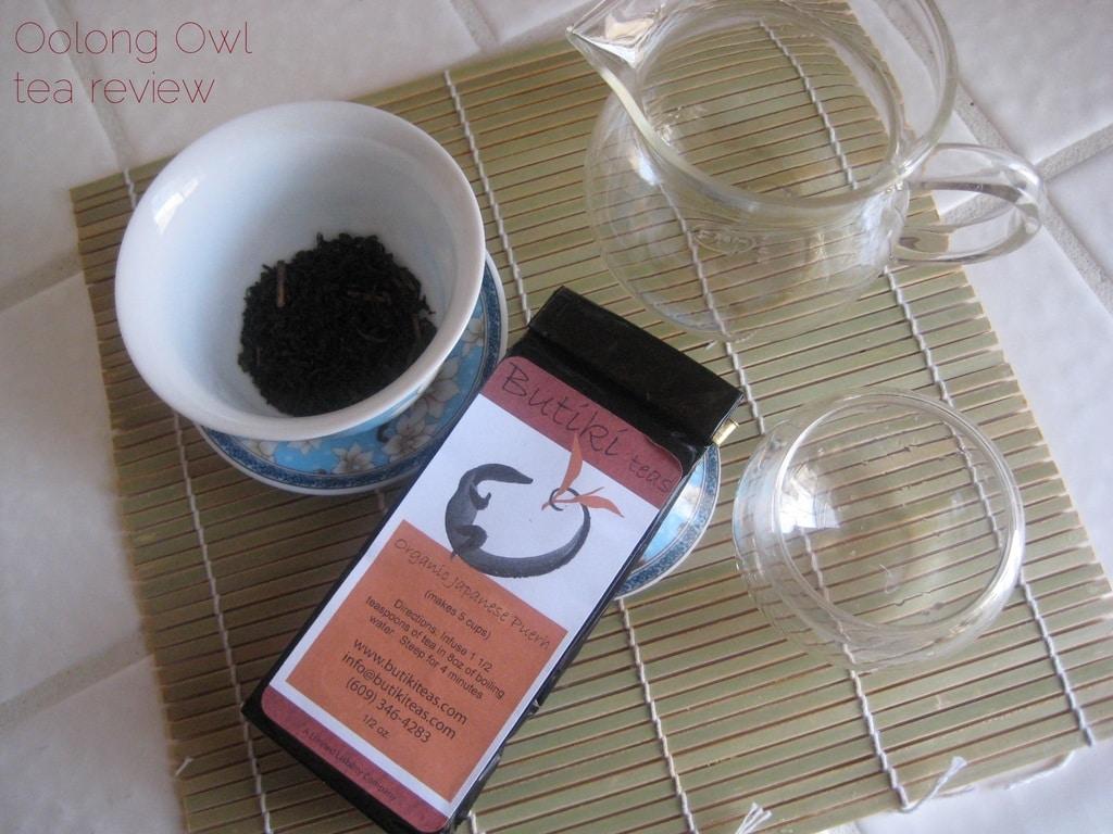 Organic Japanese Puerh from Butiki Teas - Oolong Owl Tea Review (2)