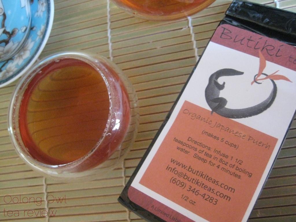 Organic Japanese Puerh from Butiki Teas - Oolong Owl Tea Review (4)