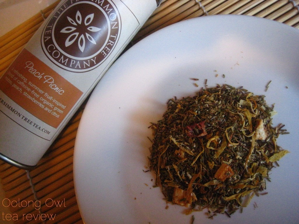 Peach Picnic from The Persimmon Tree - Oolong Owl Tea Review (2)