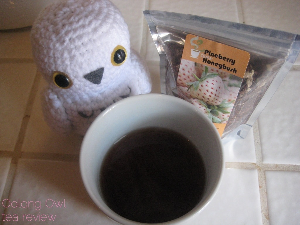 Pineberry Honeybush from 52 Teas - Oolong Owl Tea Review (4)
