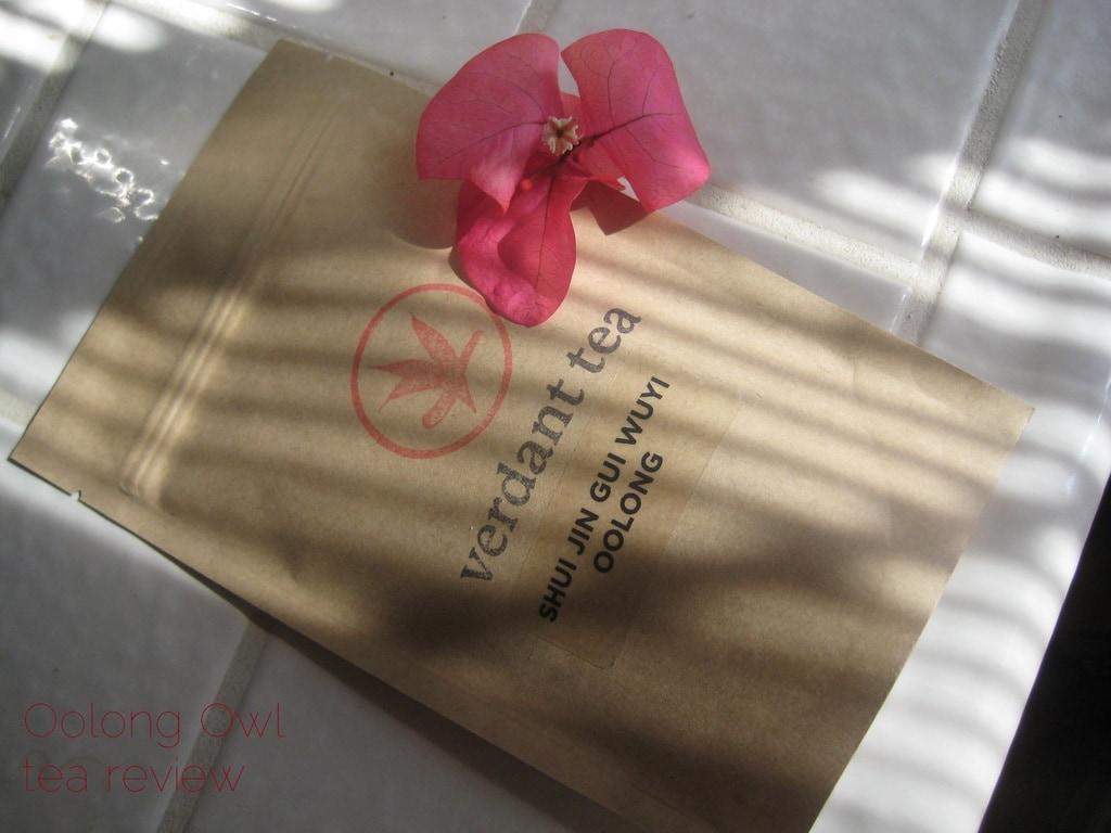 Shui Jin Gui Wuyi Oolong from Verdant Tea - Oolong Owl tea review (1)