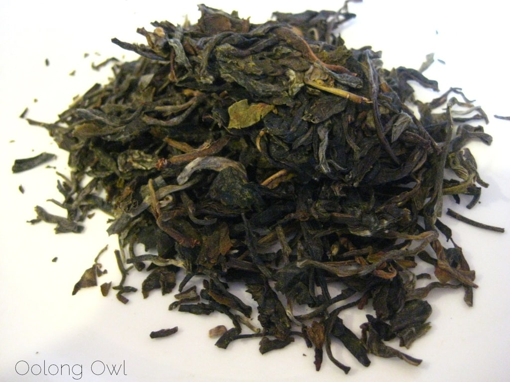 2013 Yiwu Spring Sheng Pu er from Misty Peak Teas - Oolong Owl Tea Review (1)