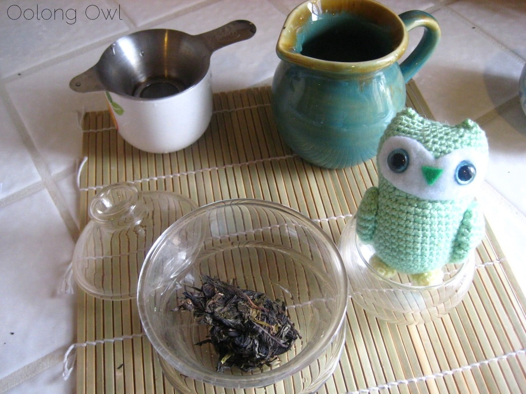 2013 Yiwu Spring Sheng Pu er from Misty Peak Teas - Oolong Owl Tea Review (3)