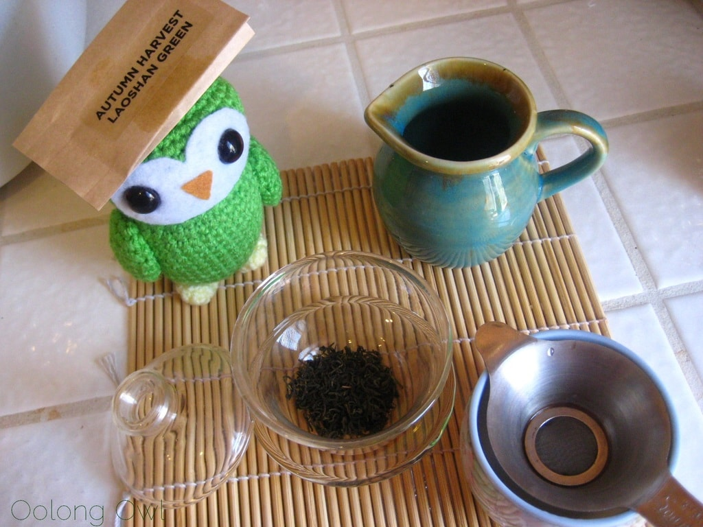 Autumn Harvest Laoshan Green from Verdant Tea - Oolong Owl tea review (3)
