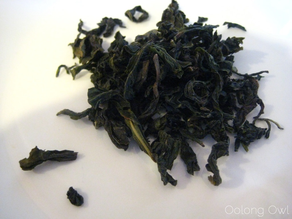 Bao Zhong from The Persimmon Tree - Oolong Owl Tea Review (2)