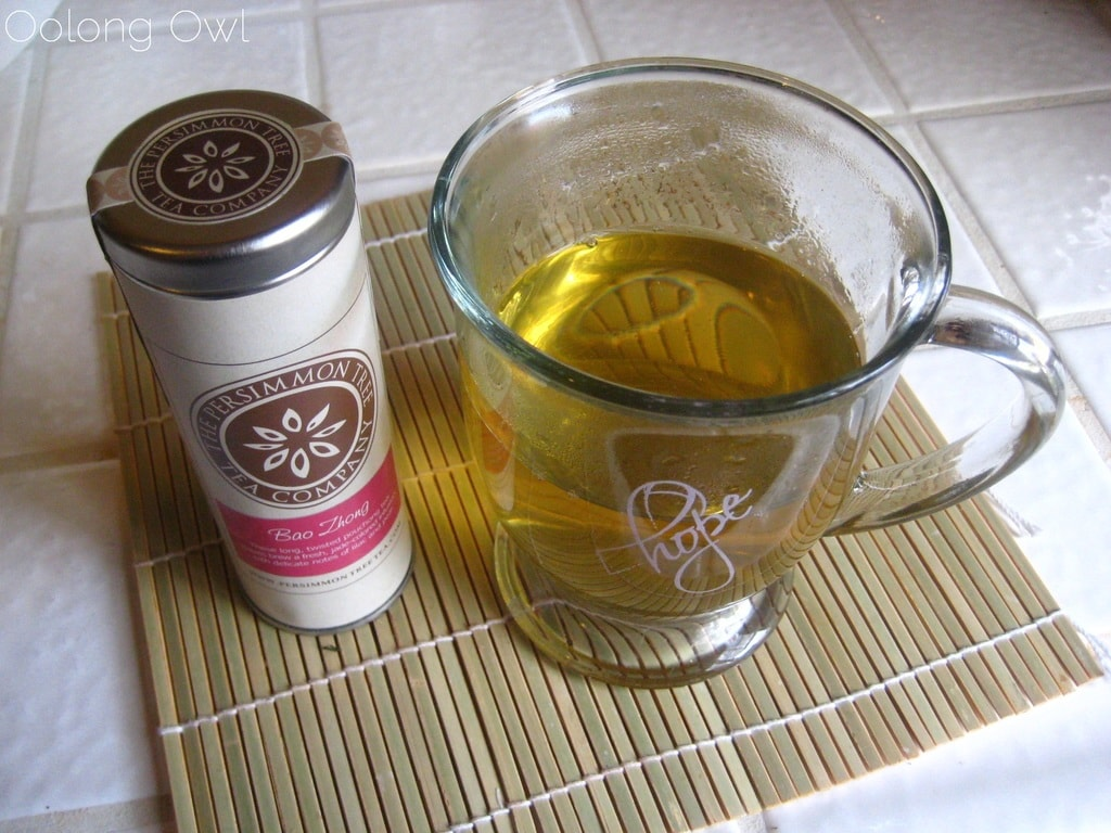 Bao Zhong from The Persimmon Tree - Oolong Owl Tea Review (5)