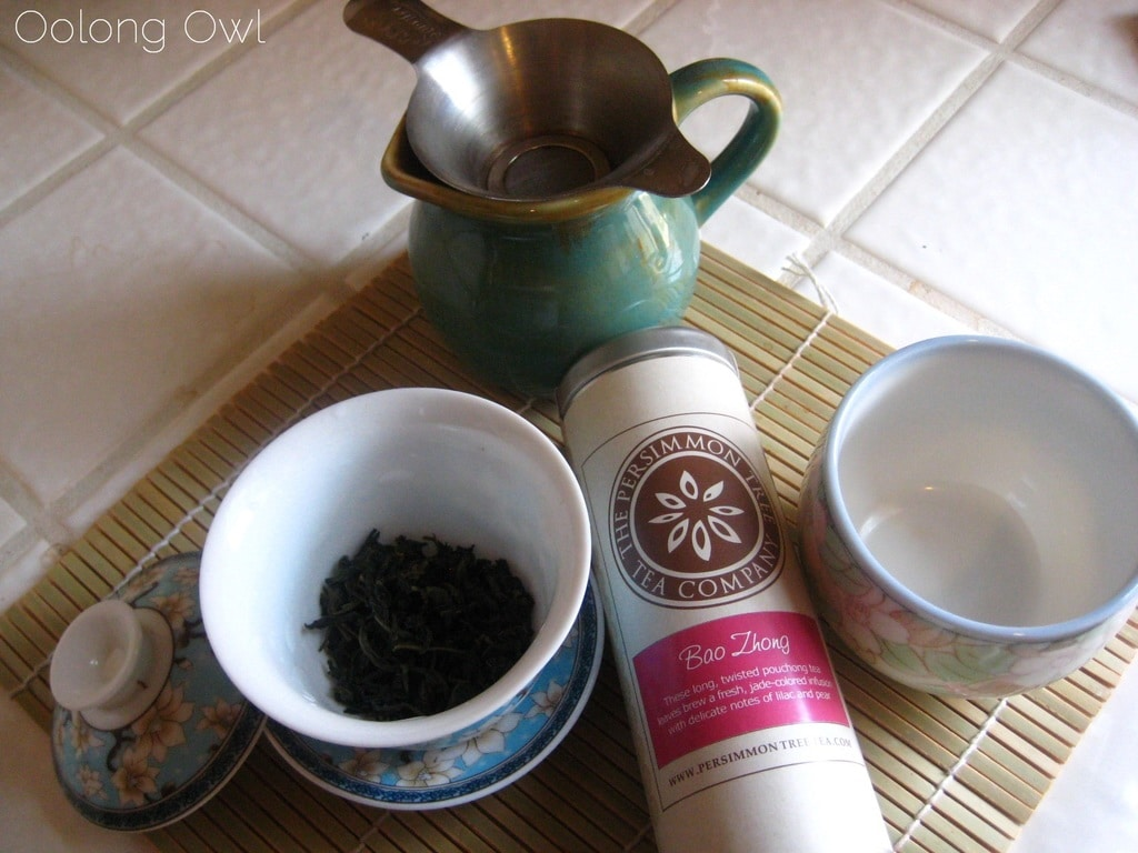Bao Zhong from The Persimmon Tree - Oolong Owl Tea Review (6)
