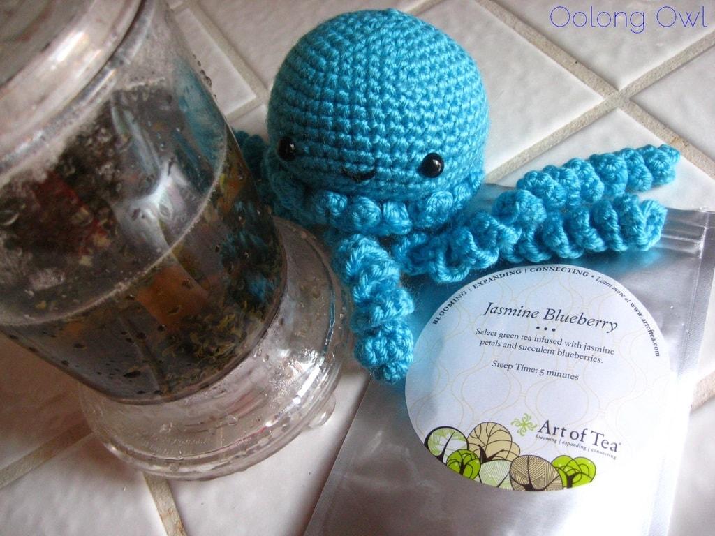 Jasmine Blueberry from Art of Tea - Oolong Owl Tea Review (4)