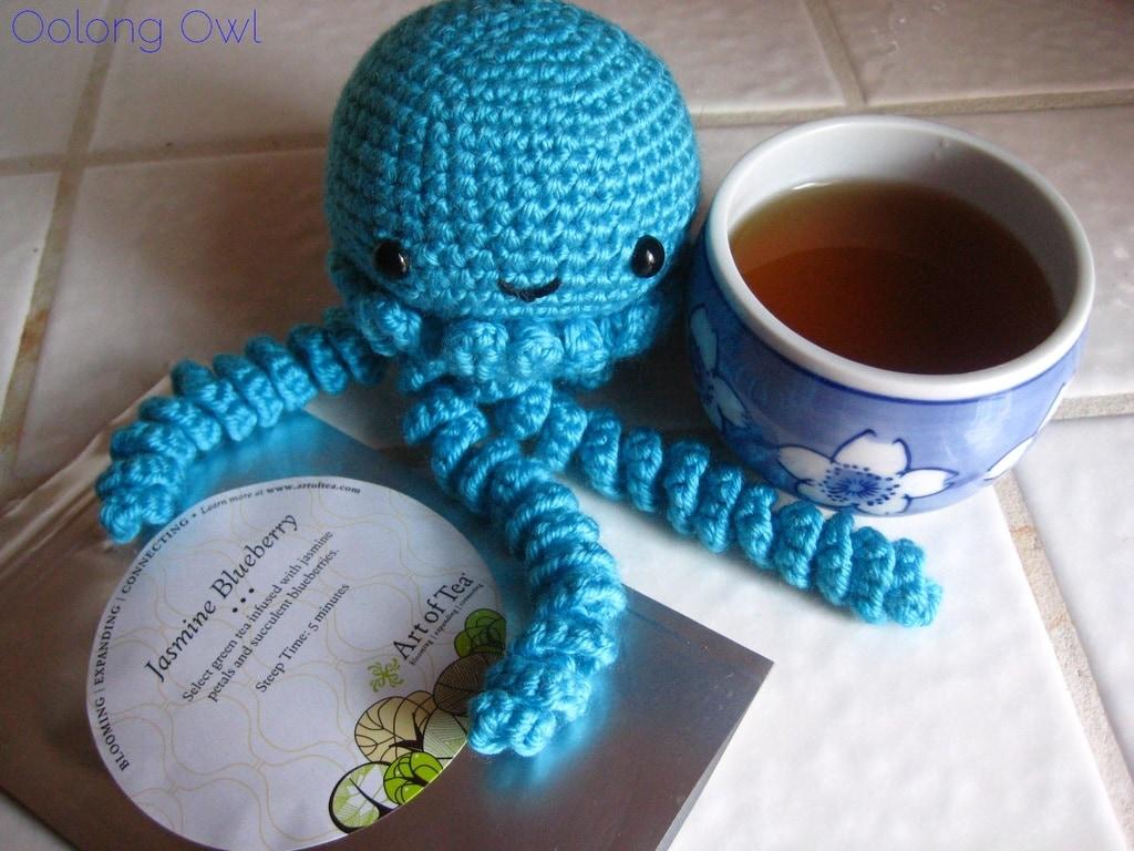 Jasmine Blueberry from Art of Tea - Oolong Owl Tea Review (6)