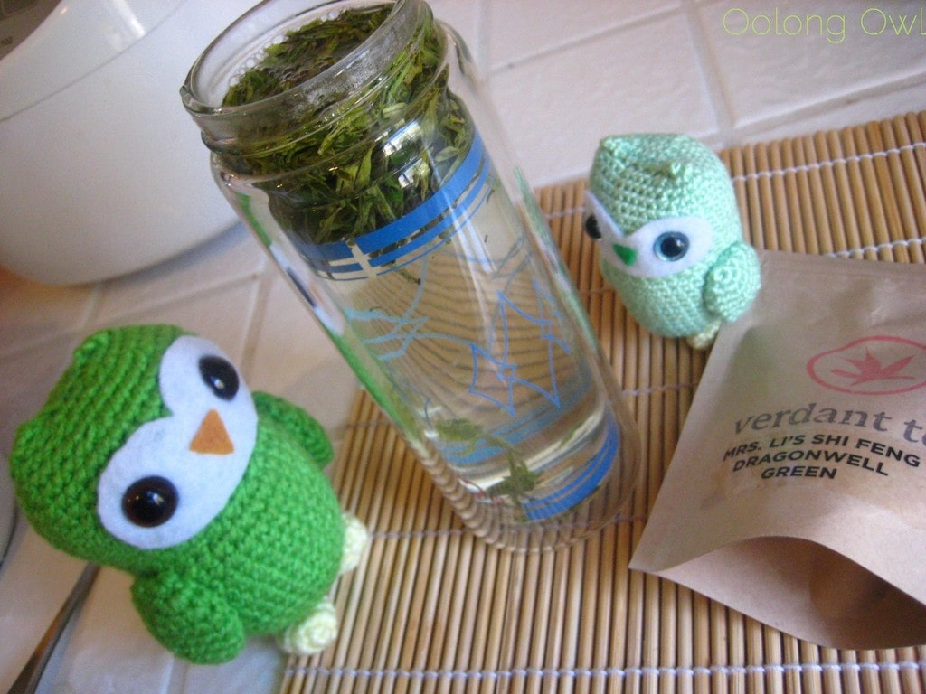 Mrs Li She Feng Dragonwell from Verdant Tea - Oolong Owl tea review (16)