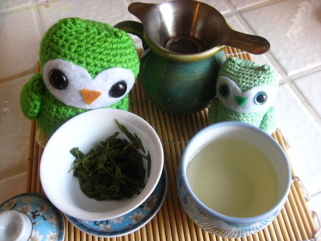 Mrs Li She Feng Dragonwell from Verdant Tea - Oolong Owl tea review (6)