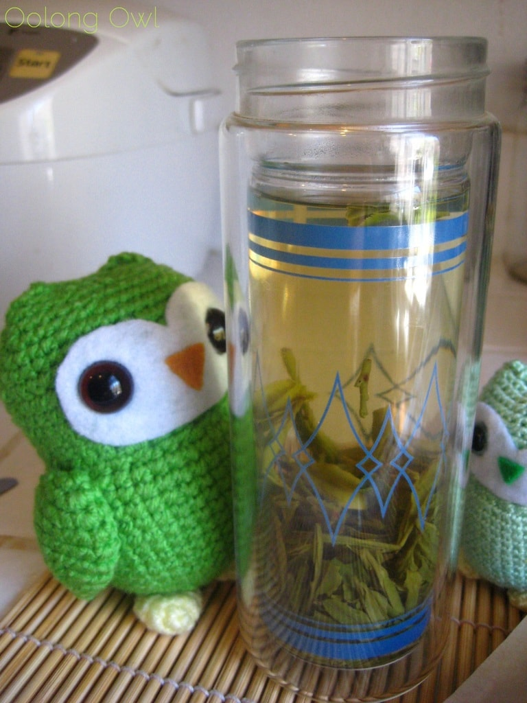 Mrs Li She Feng Dragonwell from Verdant Tea - oolong Owl tea review