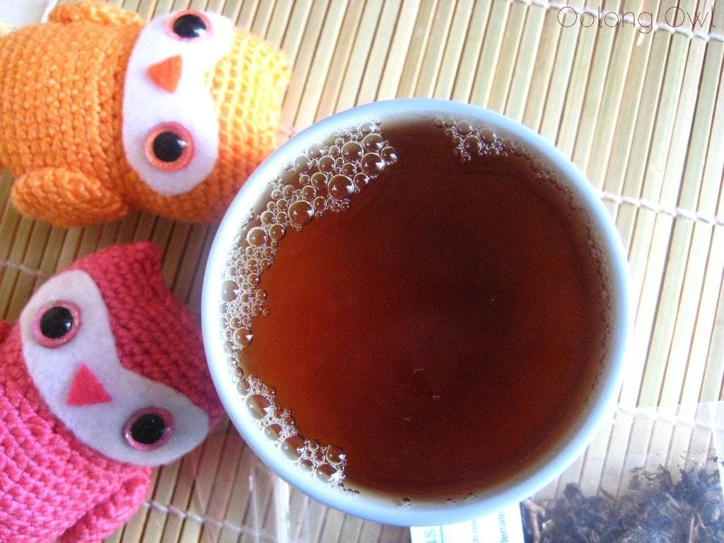 Peach Oolong from Della Terra Teas - Oolong owl tea review (5)
