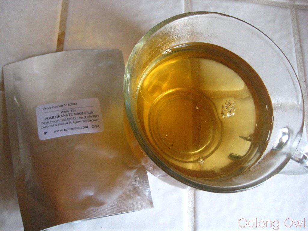 Pomegranate Magnolia White Tea from Upton Tea Imports - Oolong Owl Tea Review (10)