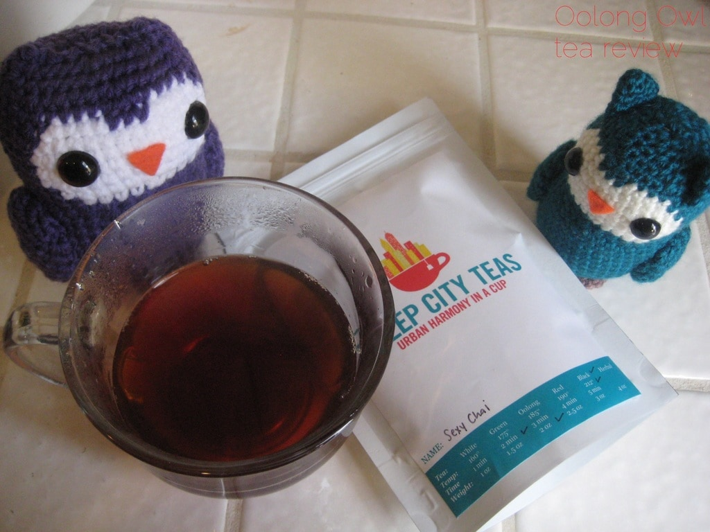 Sexy Chai from Steep City Tea - Oolong Owl Tea Review (5)