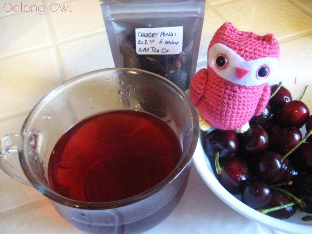 Pondi Cherry from New Mexico Tea Company - Oolong Owl Tea Review (6)