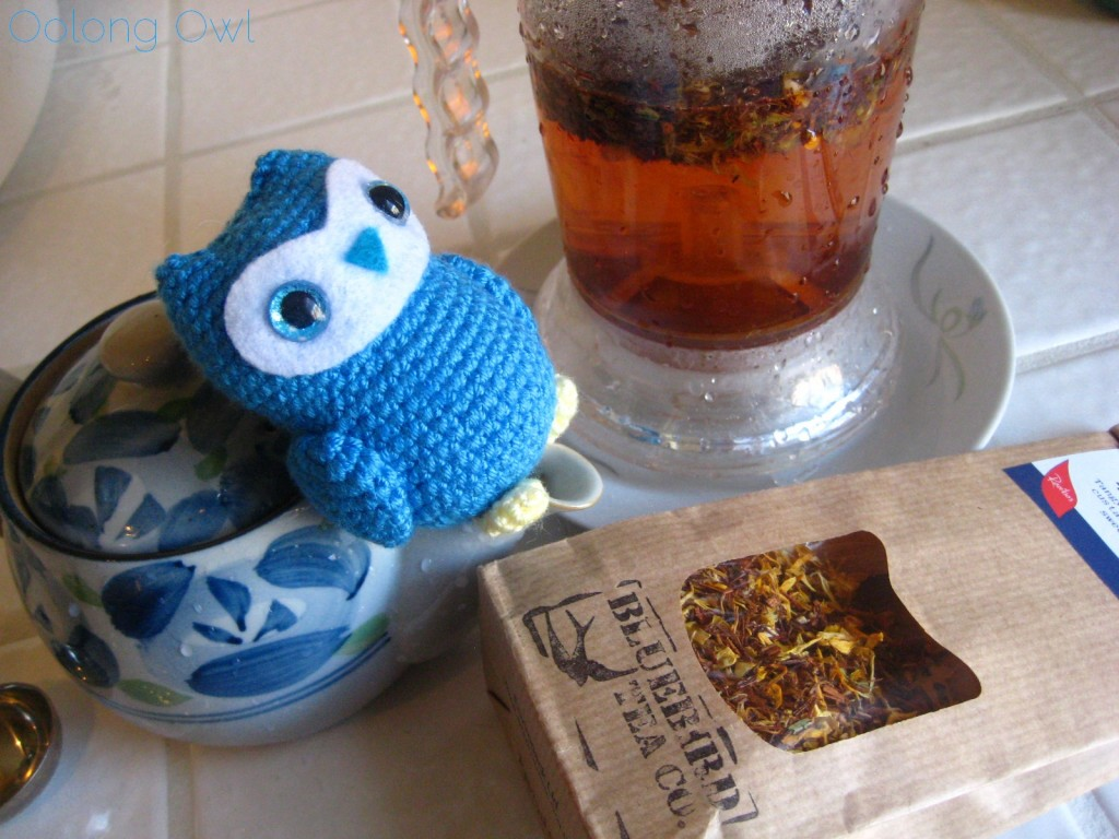 Rhubarb Custard from Bluebird Tea Co - Oolong Owl Tea Review (10)