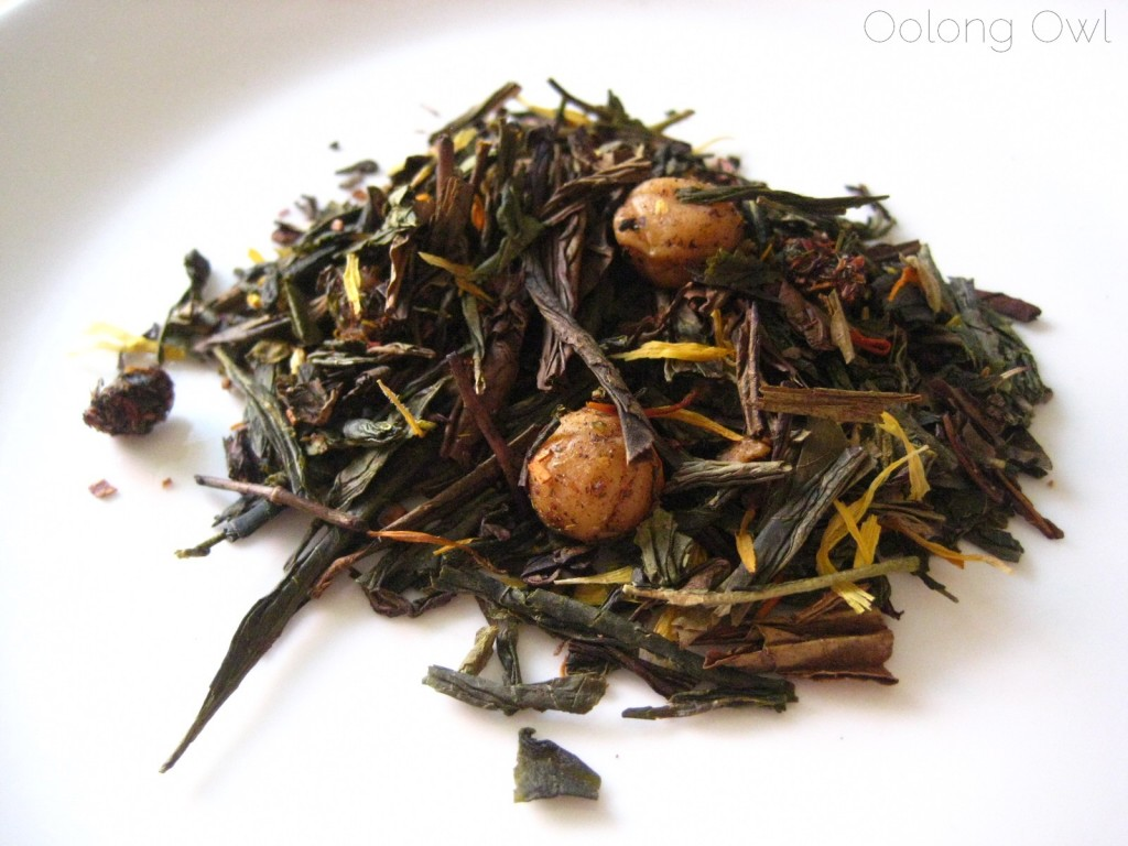 Green Caramel from The Persimmon Tree - Oolong Owl Tea Review (2)