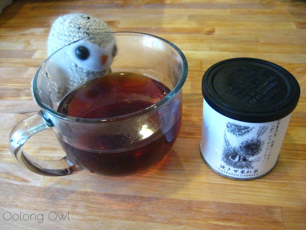 Sweet Roasted Chestnuts Flavored Black tea from Creha Tea and Yunomi - Oolong Owl Tea Review (10)