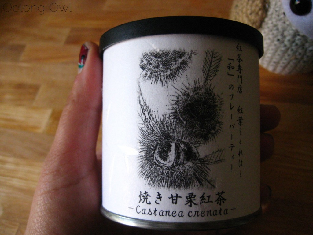 Sweet Roasted Chestnuts Flavored Black tea from Creha Tea and Yunomi - Oolong Owl Tea Review (2)