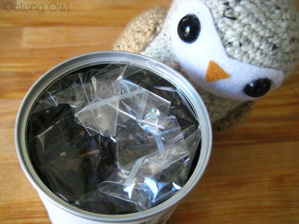 Sweet Roasted Chestnuts Flavored Black tea from Creha Tea and Yunomi - Oolong Owl Tea Review (4)