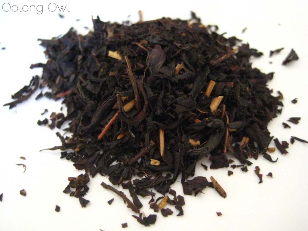 Sweet Roasted Chestnuts Flavored Black tea from Creha Tea and Yunomi - Oolong Owl Tea Review (6)
