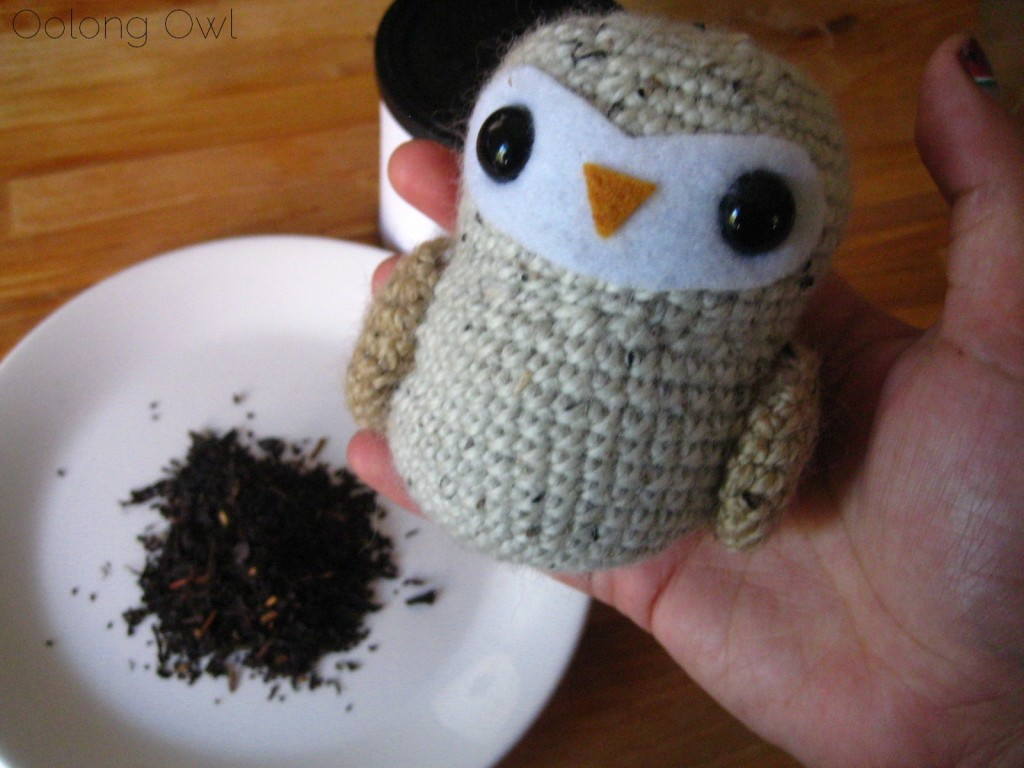 Sweet Roasted Chestnuts Flavored Black tea from Creha Tea and Yunomi - Oolong Owl Tea Review (7)