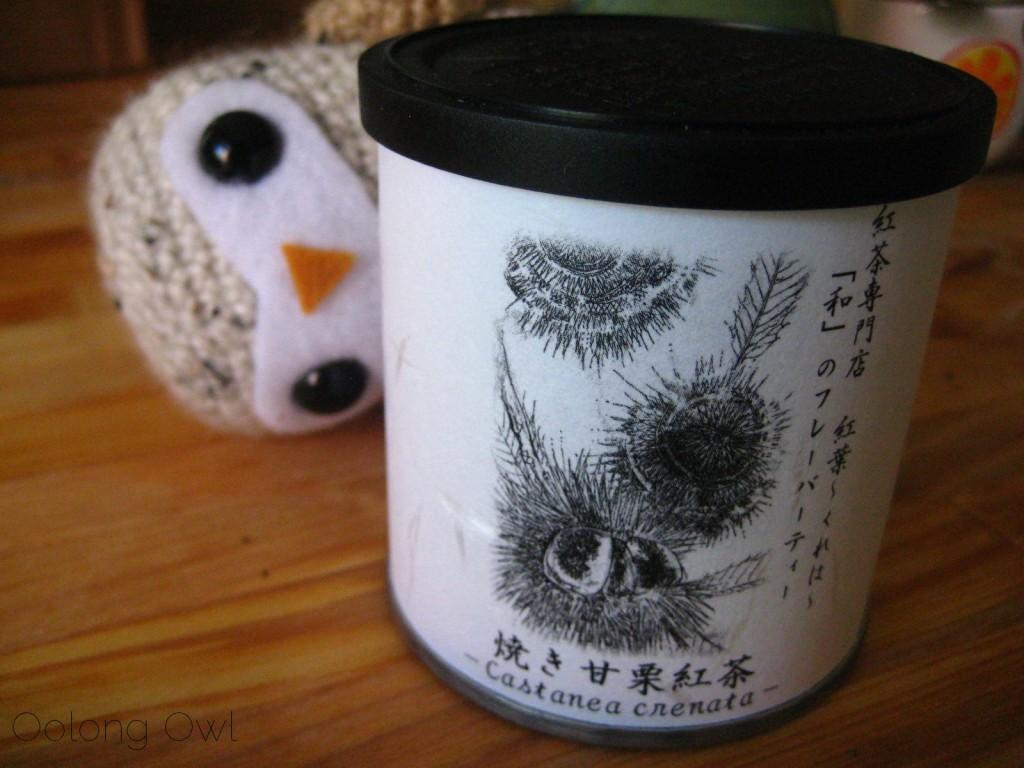 Sweet Roasted Chestnuts Flavored Black tea from Creha Tea and Yunomi - Oolong Owl Tea Review (8)