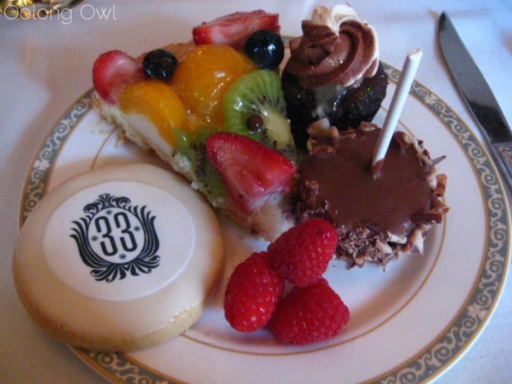 Club 33 dessert