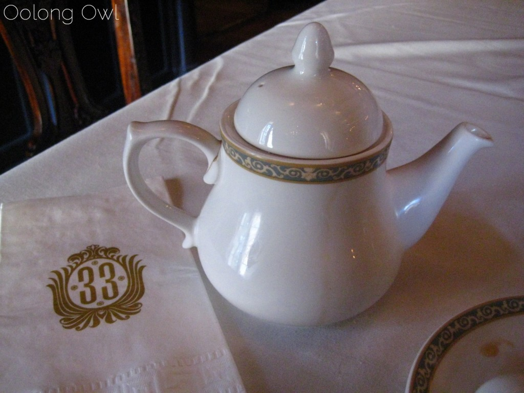 club 33 disneyland tea oolong owl