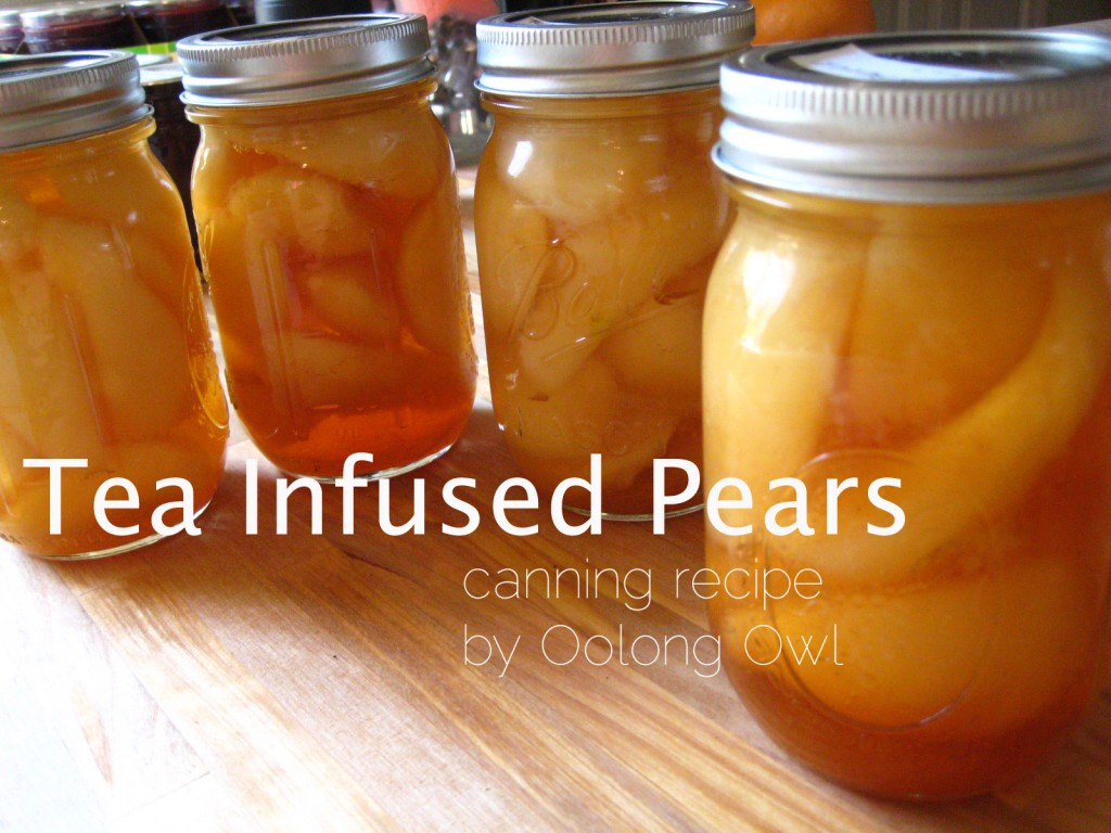 Oolong Owls Tea Infused Pears Canning Recipe (14)