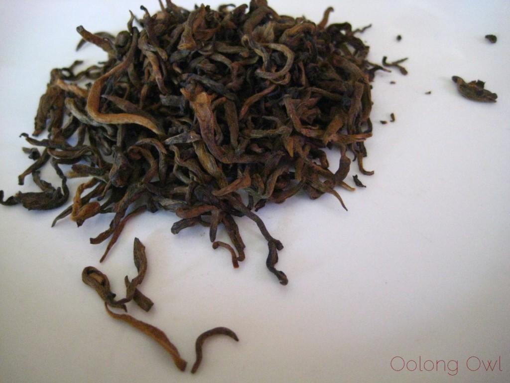 Special Dark Ripe Loose Leaf Pu er 2006 from Mandala Tea - Oolong Owl Tea Review (2)