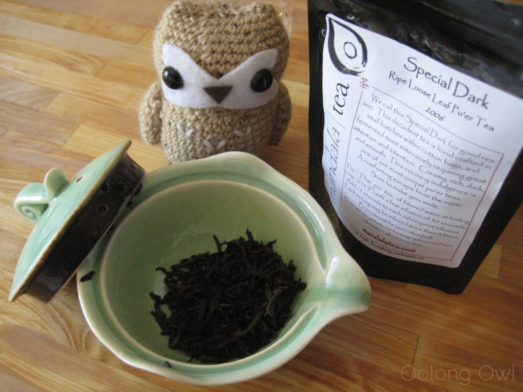 Special Dark Ripe Loose Leaf Pu er 2006 from Mandala Tea - Oolong Owl Tea Review (8)