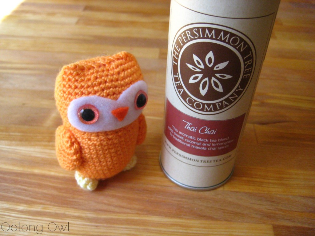Thai Chai from The Persimmon Tree - Oolong Owl Tea Review (1)