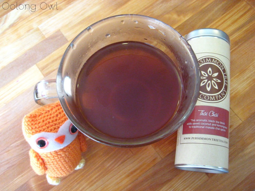 Thai Chai from The Persimmon Tree - Oolong Owl Tea Review (4)