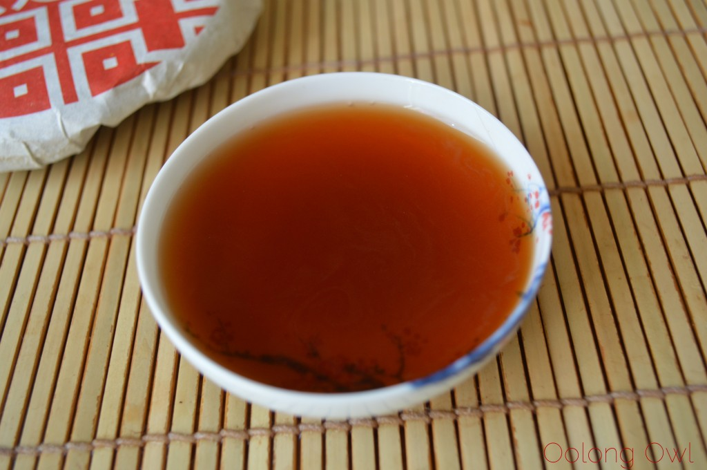 2012 Dragon of Jing Mai pu er from Yunnan Sourcing - Oolong Owl Tea Review (11)