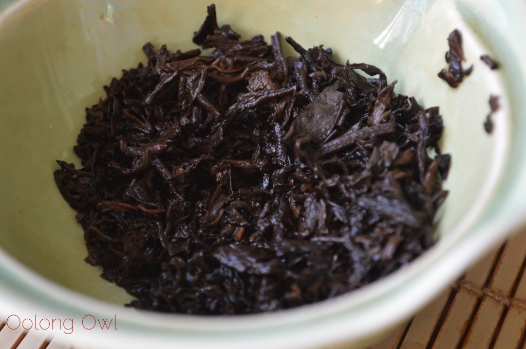 2012 Dragon of Jing Mai pu er from Yunnan Sourcing - Oolong Owl Tea Review (12)