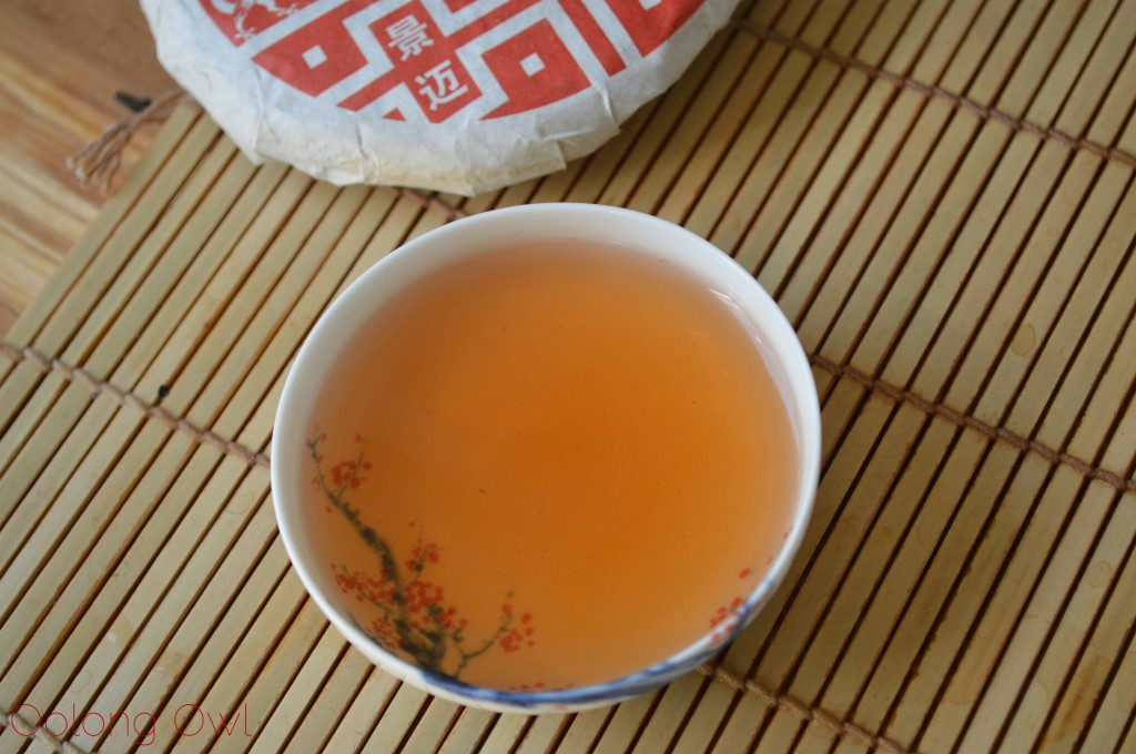2012 Dragon of Jing Mai pu er from Yunnan Sourcing - Oolong Owl Tea Review (13)