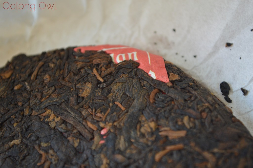 2012 Dragon of Jing Mai pu er from Yunnan Sourcing - Oolong Owl Tea Review (5)