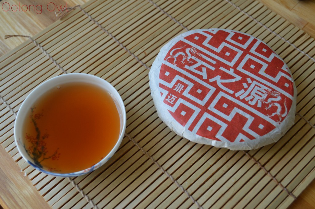 2012 Dragon of Jing Mai pu er from Yunnan Sourcing - Oolong Owl Tea Review (8)