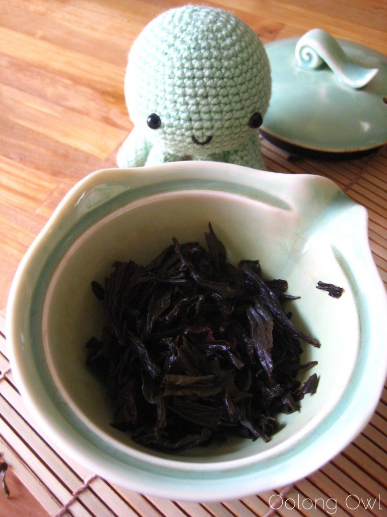 Da Hong Pao Big Red Robe Oolong from Teavivre - Oolong Owl Tea Review (9)