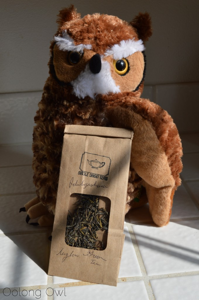 Idulgashinna Ceylon Green Tea from Single Origin Teas - Oolong Owl Tea Review (1)
