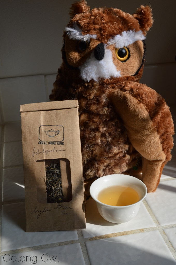 Idulgashinna Ceylon Green Tea from Single Origin Teas - Oolong Owl Tea Review (4)